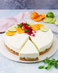 Coconut Cake with Lime & White Chocolate