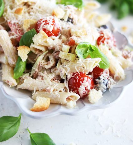Creamy Pasta Salad with Tuna