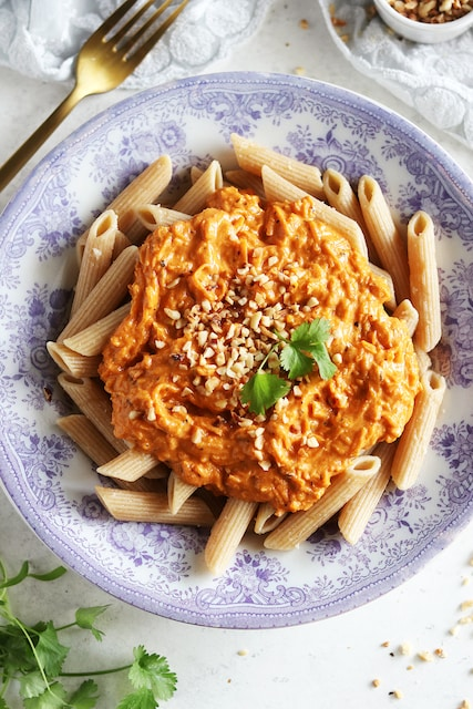 Simple and Amazing Carrot Pasta