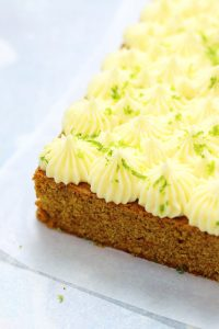 Carrot Cake with Saffron