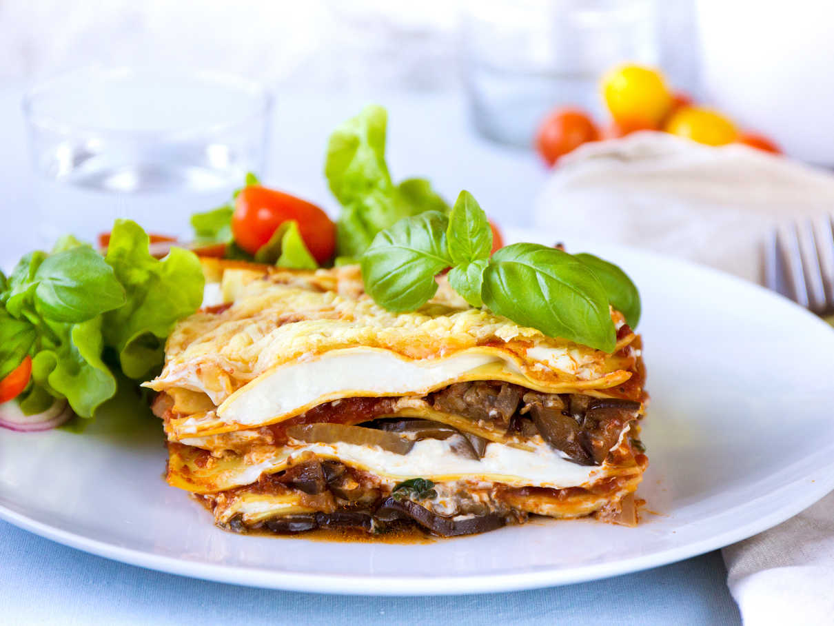 Easy Cooked and Creamy Vego Lasagna