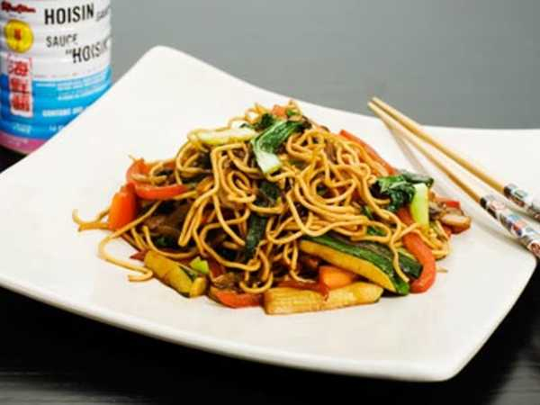 Fried Noodles with Vegetables Recipe