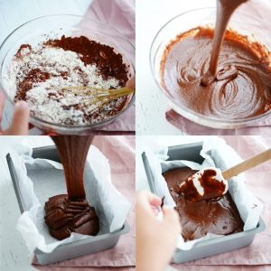 How to Make Fudge Brownie Without Eggs & Milk