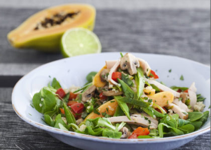 How to Make a Delicious Hot Quinoa with Chicken Salad