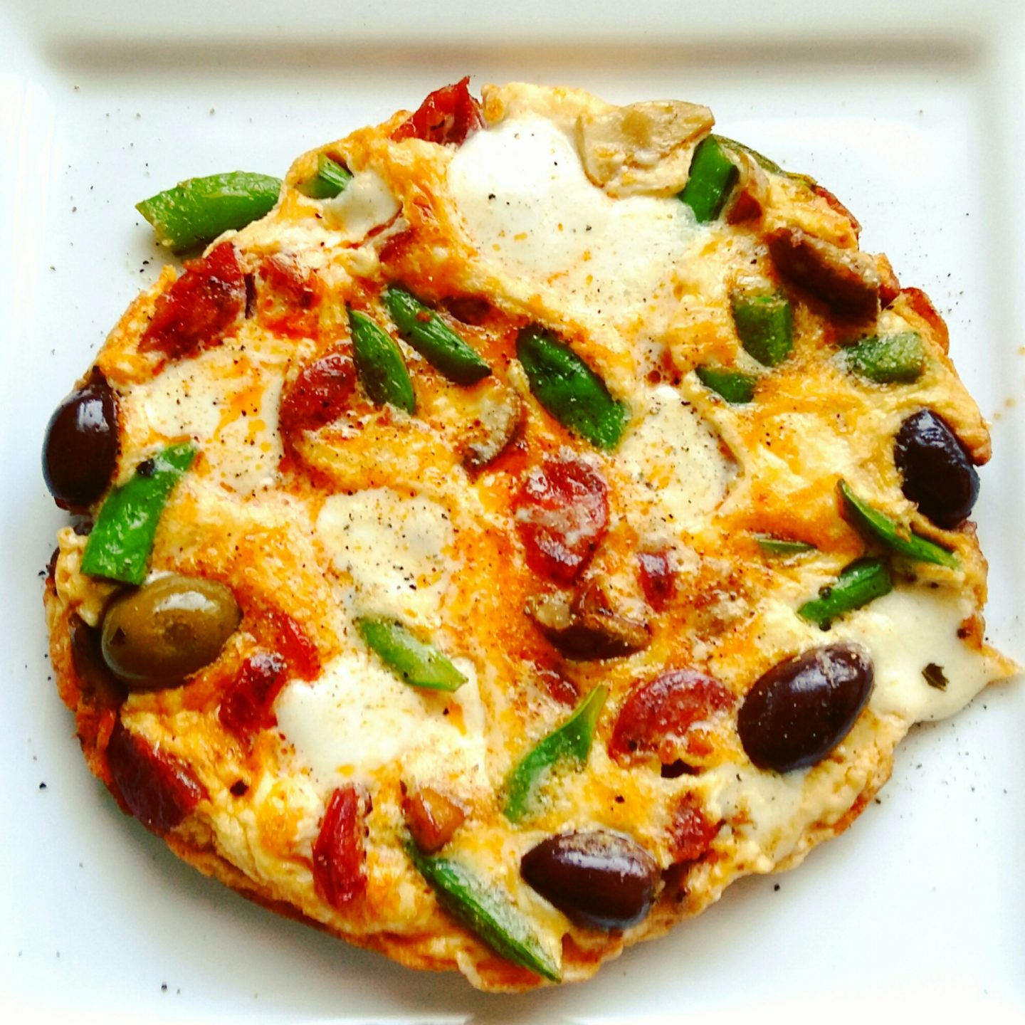 Vegetarian Pizza Omelette – Good and Easy Recipe
