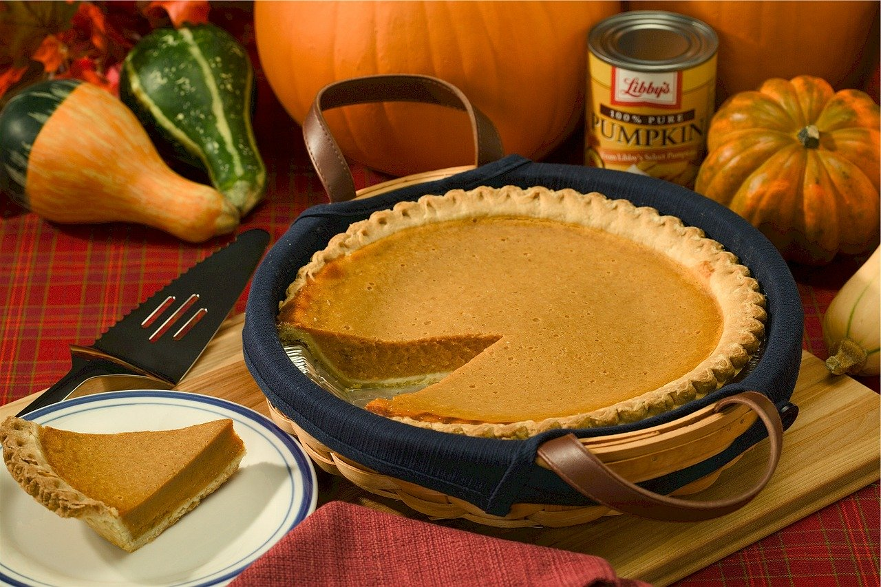 Pumpkin Pie with Whipped Cream Recipe