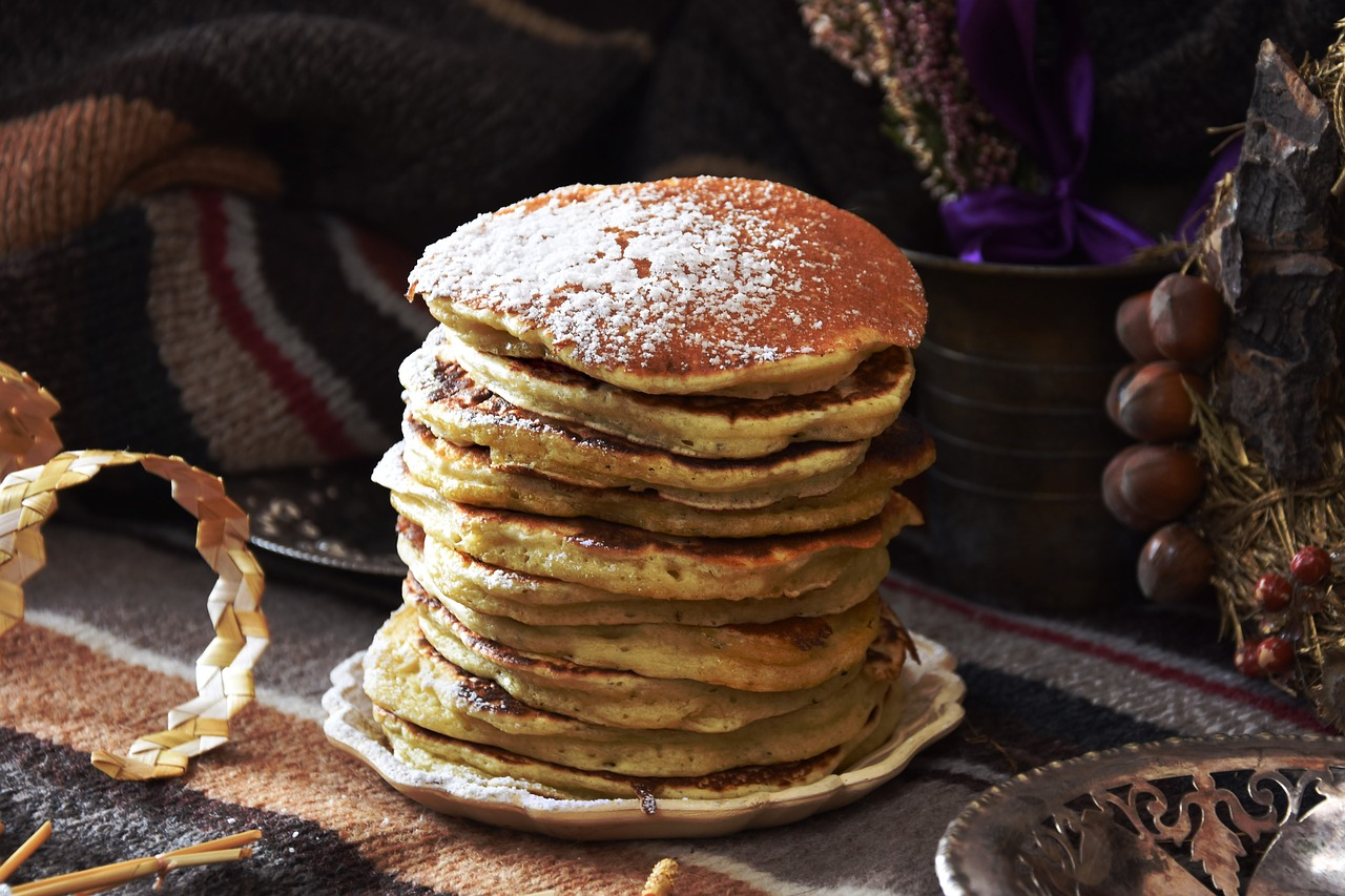 American Pancakes Recipe (Egg and Dairy Free)