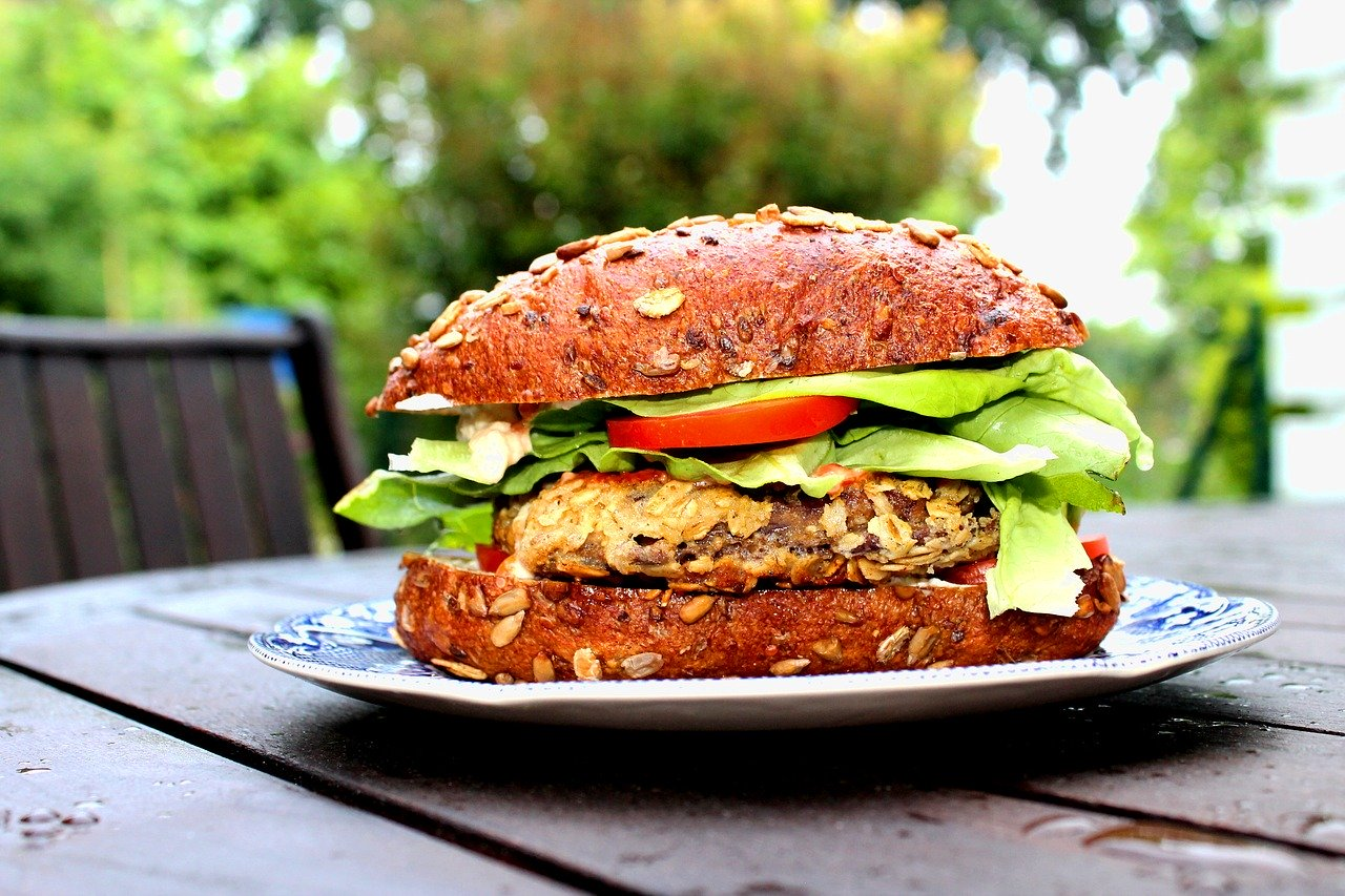 Bean Hamburger Vegan Recipe