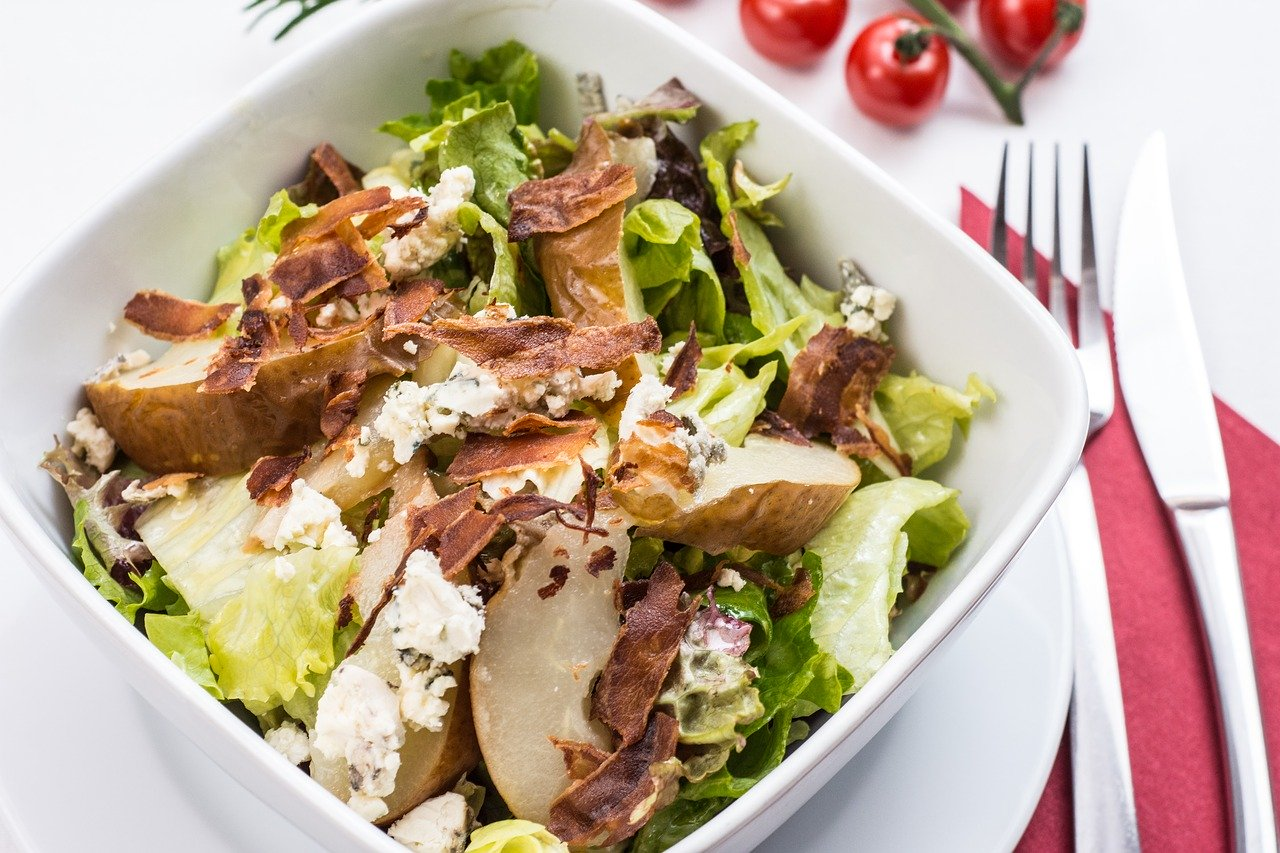 Caesar Salad with Roasted Chickpeas Recipe