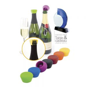 Champagne Stoppers Silikon 2-pack
