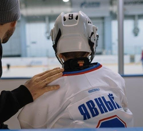 Where to Put the Stickers on A Hockey Helmet?
